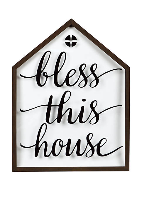 Bless This House Wall Frame