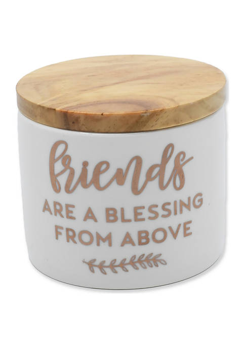 6 Ounce Friends Are a Blessing From Above Candle