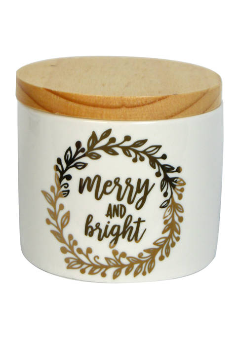 6 Ounce Merry and Bright Candle