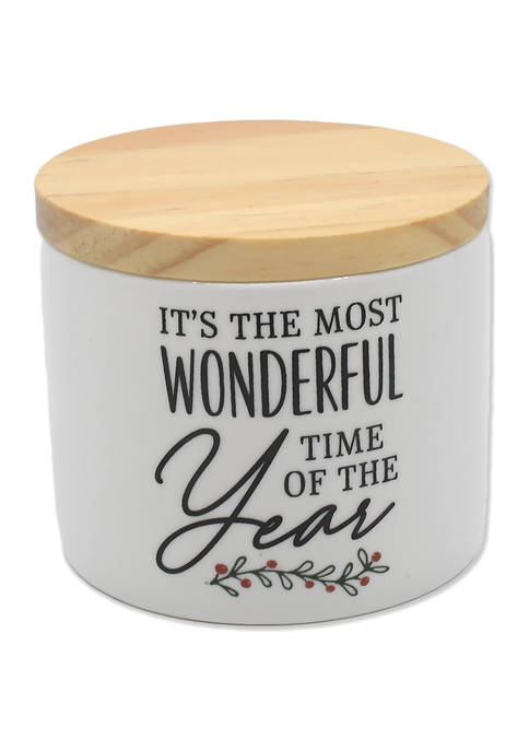 6 Ounce Its the Most Wonderful Time of the Year Candle