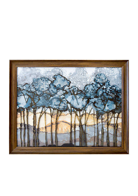 New View Forest Printed Glass