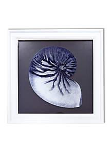 Reverse Shell Print on Glass