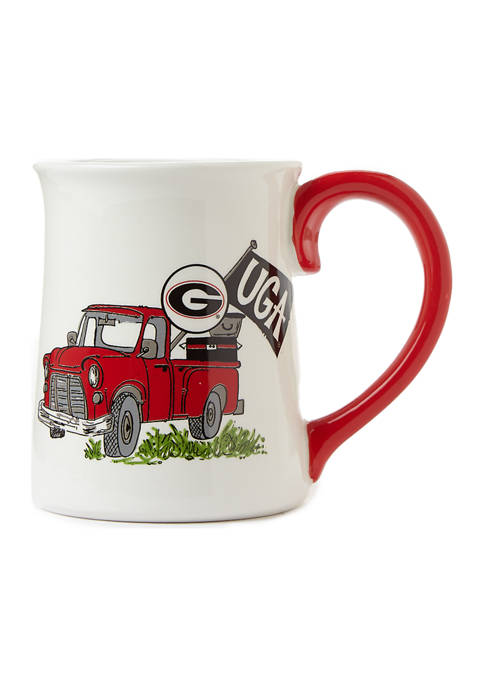 NCAA Georgia Bulldogs Traditions Truck Coffee Mug