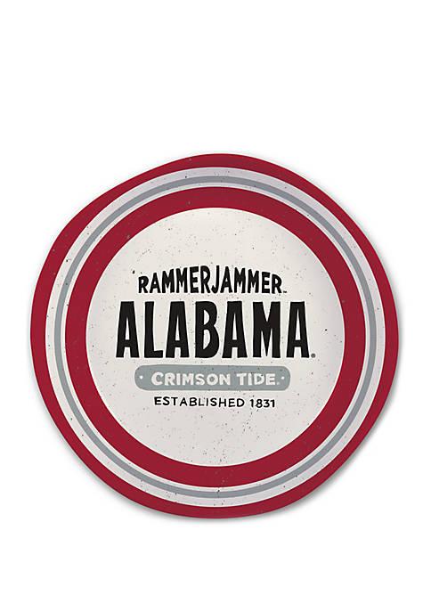Magnolia Lane Alabama Crimson Tide Heavyweight Melamine Bowl