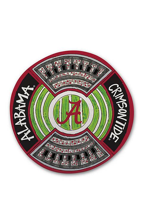 Magnolia Lane Alabama Crimson Tide Heavyweight Melamine Platter
