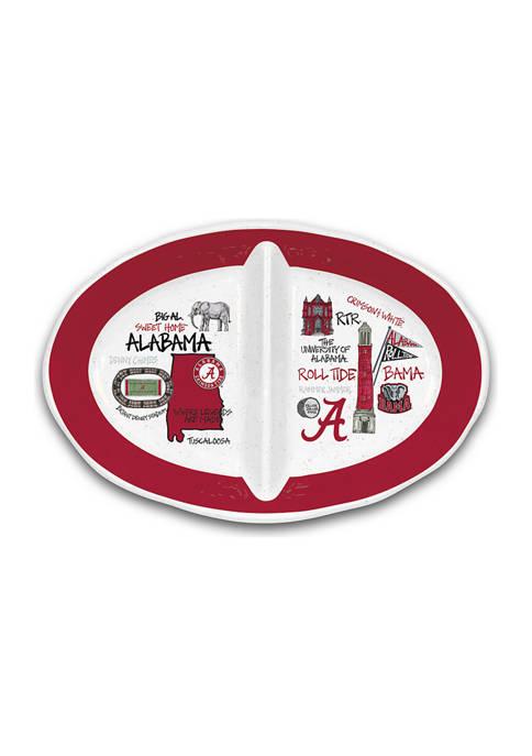Magnolia Lane NCAA Alabama Crimson Tide 2 Section