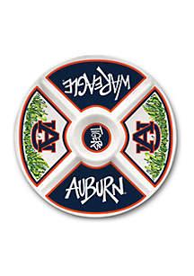 Auburn Tigers Melamine Veggie Tray