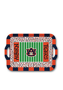 Auburn Tigers Melamine Tray with Handles