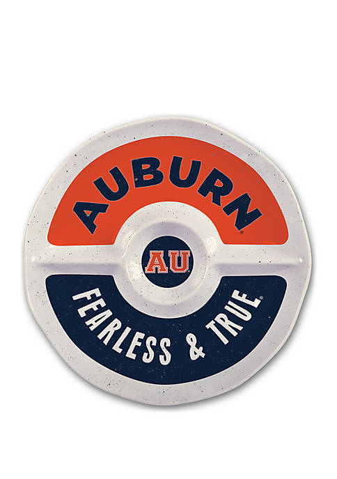 Magnolia Lane Auburn Tigers Heavyweight Melamine Chip and