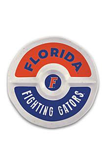 Magnolia Lane Florida Gators Heavyweight Chip and Dip Tray