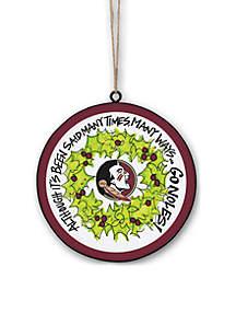 Florida State Seminoles Ornament