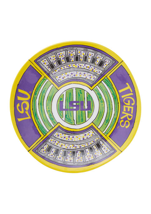 NCAA LSU Tigers Melamine Platter