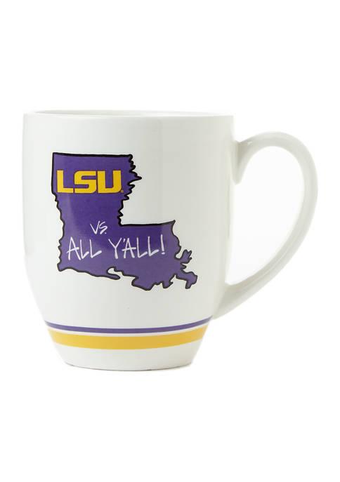 NCAA LSU Tigers State Outline Mug