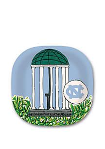 North Carolina Tar Heels Melamine Plate