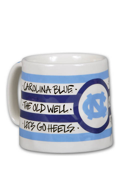 Magnolia Lane North Carolina Tar Heels Stripe Mug