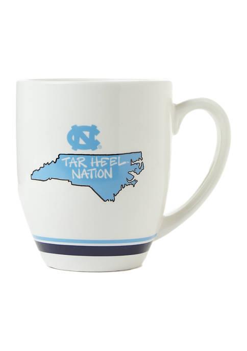 Magnolia Lane NCAA UNC Tarheels State Outline Mug