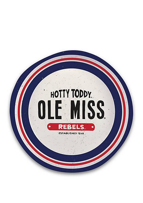 Magnolia Lane Ole Miss Rebels Heavyweight Melamine Bowl