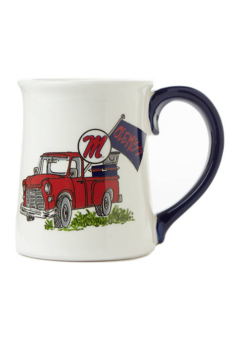 Magnolia Lane NCAA Ole Miss Rebels Traditions Truck