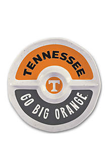 Magnolia Lane Tennessee Volunteers Heavyweight Melamine Chip and Dip Tray