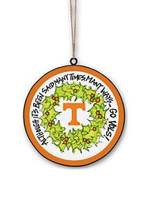 Tennessee Volunteers Metal Ornament