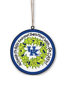 Kentucky Wildcats Metal Ornament