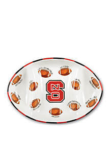 NC State Wolfpack Football Platter