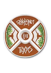 Texas Longhorns Melamine Veggie Tray