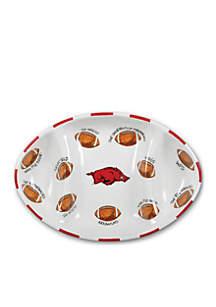 Arkansas Razorbacks Football Platter