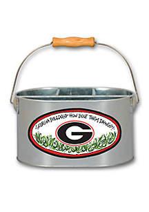 Georgia Bulldogs Metal Utensil Holder