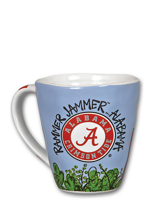 Magnolia Lane Alabama Crimson Tide Campus Mug