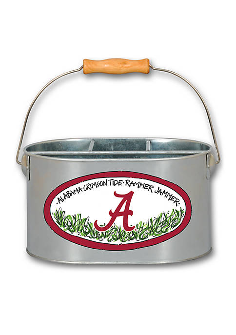 Magnolia Lane Alabama Crimson Tide Metal Utensil Holder