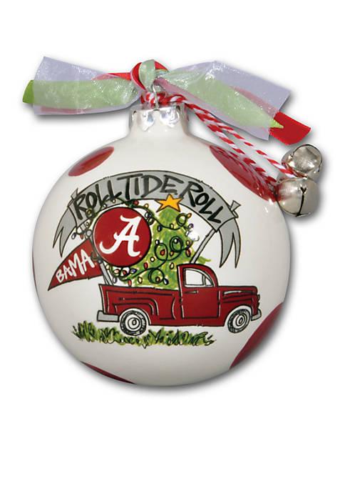 Magnolia Lane Alabama Roll Tide Pickup Truck Ornament