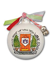 3.5-in. Auburn University My House Ball Ornament