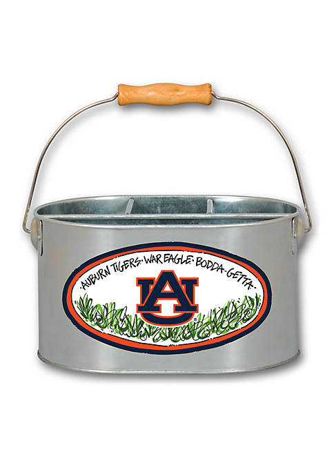 Magnolia Lane Auburn Tigers Metal Utensil Holder