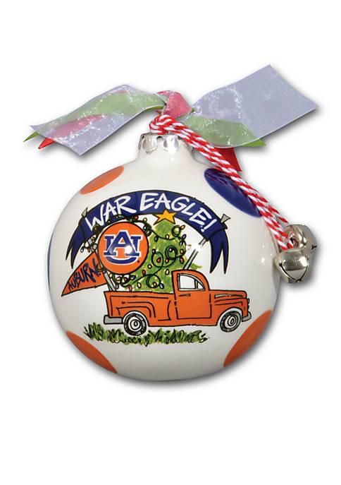 Magnolia Lane Auburn Tigers Pickup Truck Ornament