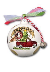 Florida State Seminoles Pickup Truck Ornament