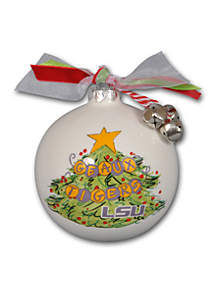 Magnolia Lane 3.5-in. LSU Christmas Tree Ornament