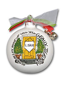 3.5-in. LSU My House Ornament