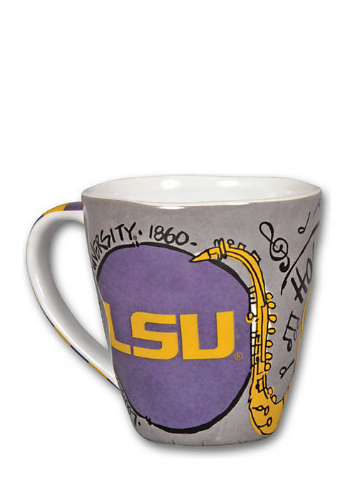 Magnolia Lane LSU Tiger Campus Mug
