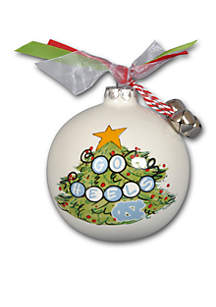 3.5-in. UNC Christmas Tree Ornament