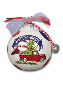 Ole Miss Rebels Pickup Truck Ornament