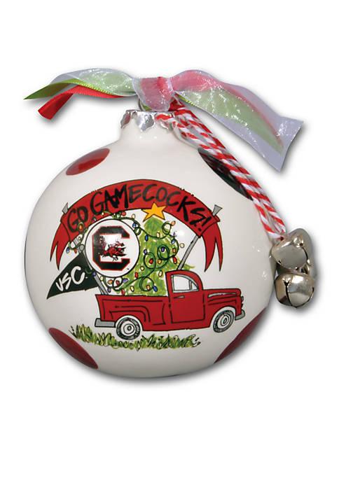 Magnolia Lane South Carolina Gamecocks Pickup Truck Ornament