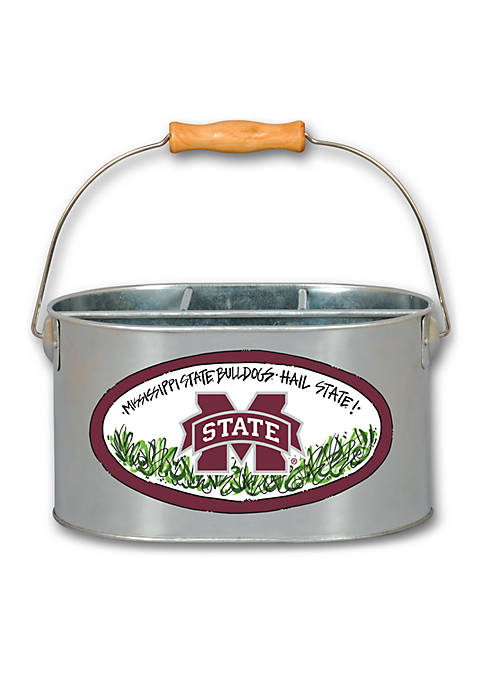 Magnolia Lane Mississippi State Bulldogs Metal Utensil Holder