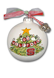 3.5-in NC State University Christmas Tree Ornament