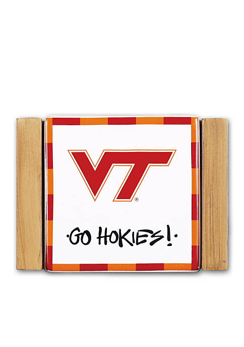 Magnolia Lane Virginia tech 4-Piece Coaster Set