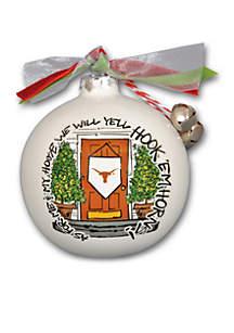 Texas Longhorns House Ornament