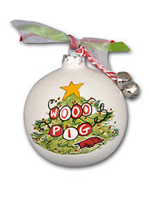 3.5-in University of Arkansas Christmas Tree Ornament