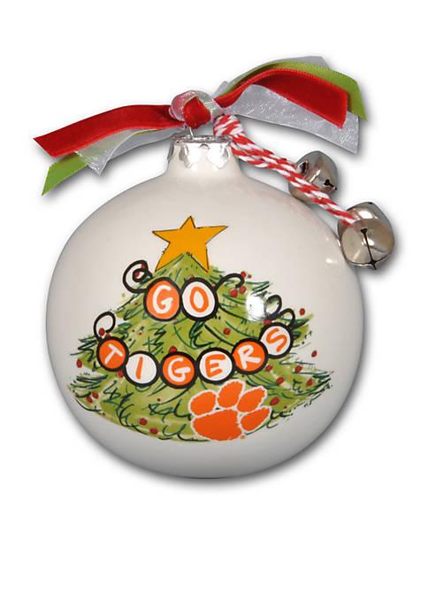 35 In Clemson University Christmas Tree Ornament