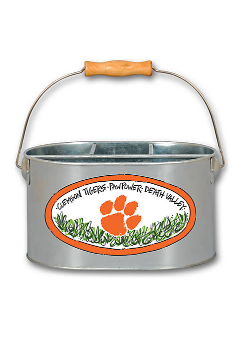 Magnolia Lane Clemson Tigers Metal Utensil Holder
