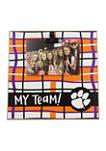 NCAA Clemson Tigers My Team Wood Frame